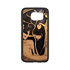 Greek Art Samsung Galaxy S6 Cell Phone Case White Phone cover T7403017