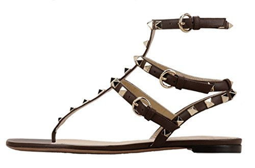 Amy Q - Zapatos de tacón  mujer marrón