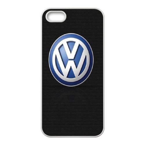Volkswagen 002 coque iPhone 4 4S cellulaire cas coque de téléphone cas blanche couverture de téléphone portable EOKXLLNCD20662