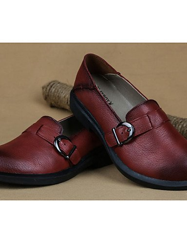 eu39 uk4 5 5 Marr¨®n Bermell¨®n Tac¨®n brown Plano us6 burgundy brown cn40 Casual ZQ cn40 us8 us8 5 5 Cuero Mujer cn36 eu36 Bailarinas uk6 uk6 eu39 Confort qHFfw10n6