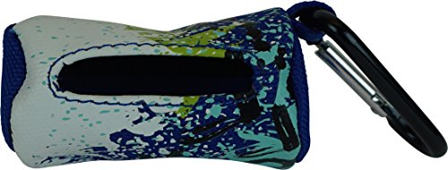 Nipper & Chipper X-Trm Dog Waste Bag Holder, Blue - Pet Waste Bag Holder