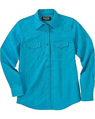 Miller Ranch Women's Plaid Dress Shirt - Dsw4205002 Tea