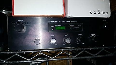 BOGEN RM-350A FM/AM RECEIVER PAGING SYSTEM AMPLIFIER - Bogen Intercom