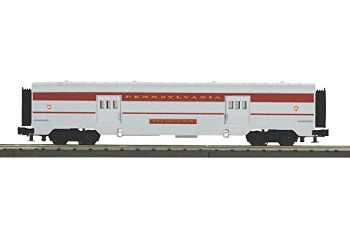 Car Baggage Streamlined - PRR 60' STREAMLINED BAGGAGE