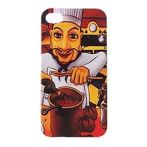 Chef con el modelo Beard estuche protector duro para el iPhone 4/4S
