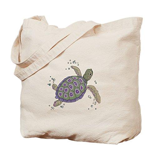 Bolso de totalizador de CafePress - bolso de mano en forma de tortuga de mar