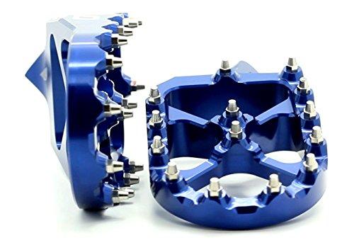Flo Motorsports Blue KTM 50-525 SX/SXF Foot Pegs FPEG-795BLU by Flo Motorsports (Image #1)