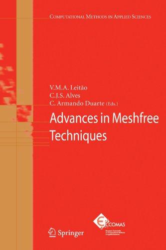 Advances in Meshfree Techniques (Computational Methods in Applied Sciences)