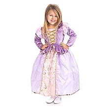 Little Adventures Traditional Classic Rapunzel Girls Princess Costume - XX-Large (9-11 Yrs)
