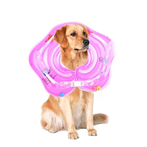 Inflatable Baby Swim Ring,Pet Dog Swimming Neck Ring for sale  Delivered anywhere in USA