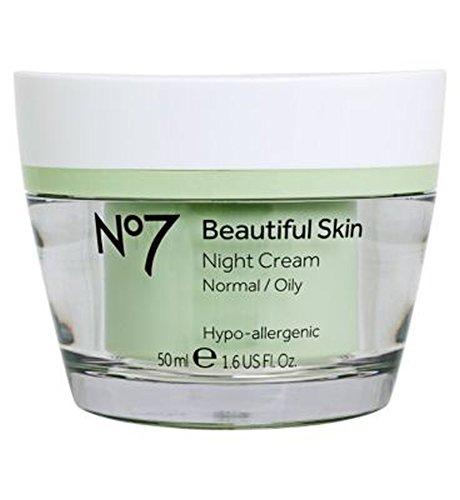 ノーマル/オイリー肌の50ミリリットルのためNo7美肌ナイトクリーム (No7) (x2) - No7 Beautiful Skin Night Cream for Normal / Oily Skin 50ml (Pack of 2) [並行輸入品] B01N3OYD4A