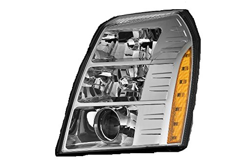 Depo 332-11B3L-ASH Head Lamp Assembly (Cadillac Escalade 07-09/Hybrid 09with Hid 1St Design)