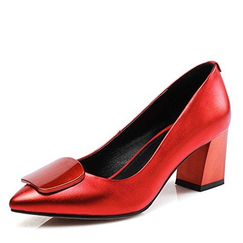Nine SevenHeels - Sandalias con cuña mujer Red