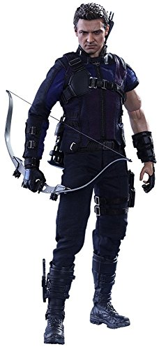 Captain Action Costume (Captain America Civil War 12 Inch Action Figure Movie Masterppiece 1/6 Scale Series - Hawkeye Hot Toys 902684)