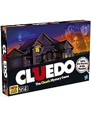 Cluedo Board Game Card Game, Classic Mystery Game