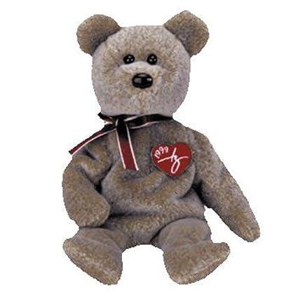 7040795b0fe (USA Warehouse) TY Beanie Baby - 1999 SIGNATURE BEAR (8.5 inch) MWMT s