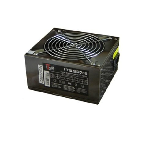 Itek Super Silent Power 700W - 14cm, 4xSata, 4x4pin, 1pcie, 1fdd ITSSP700 PSU