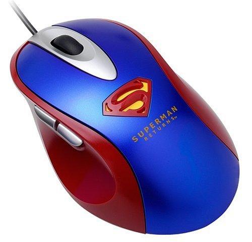 i-rocks Superman Optical Mouse (Red) - Buslink Mouse