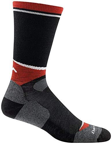 Darn Tough Vermont Men's Lars Nordic Boot Light Cushion Socks, Black, L ()