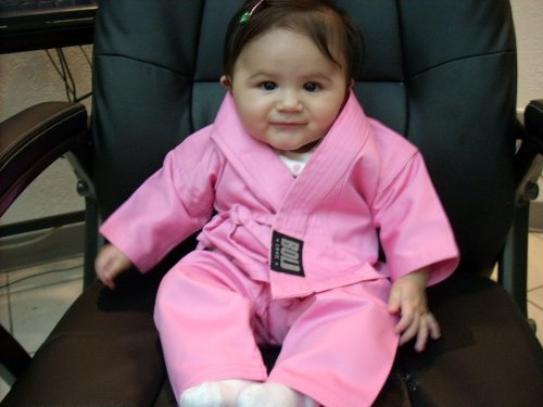 (Infant Karate Uniform (Pink))