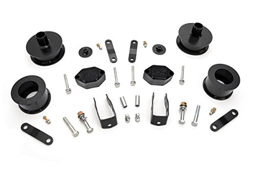 (Rough Country - 656 - 2.5-In Suspension LIFT Kit For 07-18 Jeep JK Wrangler, 1 Pack)