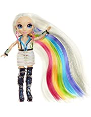 Rainbow Surprise RAINBOW HIGH Hair Studio – Create Rainbow Hair With Exclusive Doll, Extra -Long Washable Hair Color