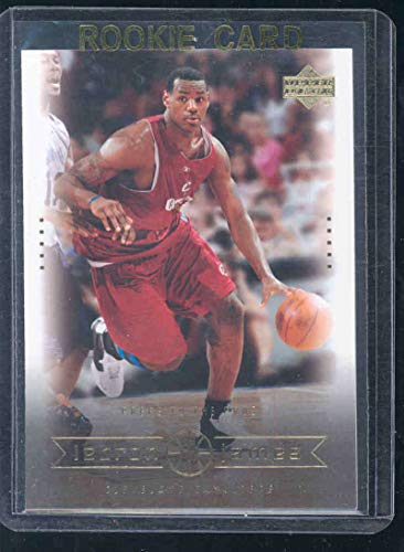 2003 Upper Deck #11 Preps to the Pros Lebron James Rookie Card - Mint Condition Ships in a Brand New Holder
