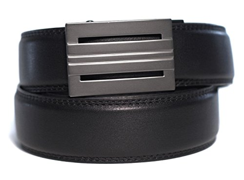 """# 1 RATED BELT Brand on Amazon. BETTER > Fit, Technology, Quality, Style and Warranty make Trakline belts the """"Jack of all Track Belts"""". A set includes 1 Buckle and 1 Belt. Our men's belts are 140% more adjustable than other ratchet belts ..."""