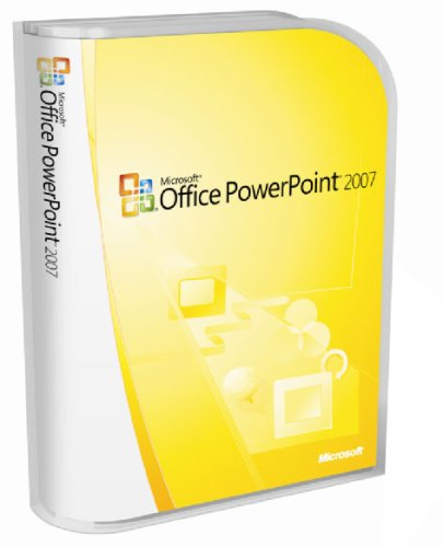 Microsoft PowerPoint 2007 Version Upgrade [Old Version] by Microsoft
