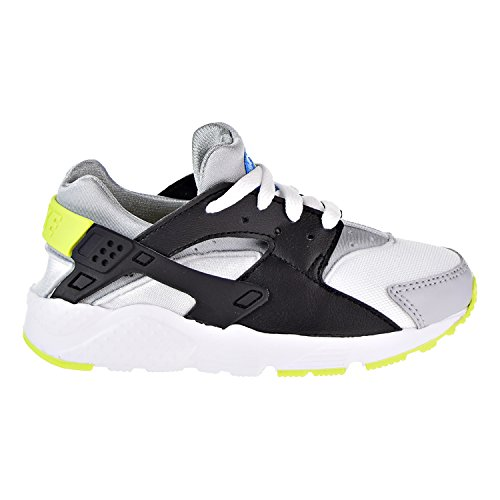 93b1722996bbd Nike Huarache Little Kid s Running Shoes University White Cyber Photo Blue  704949-112 (3 M US)
