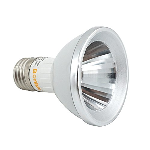 (Bonlux 7 Watt LED PAR20 Narrow Flood Light Bulb 25 Degree Beam Spread 120 Volt 50W PAR20 LED Replacement Warm White 2700K )