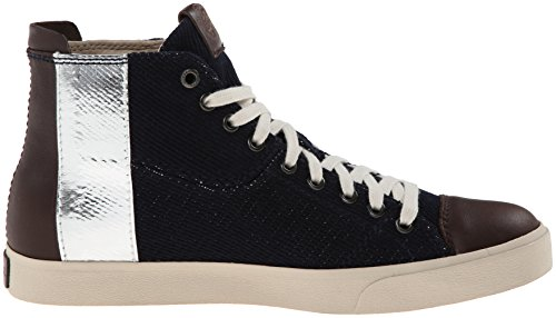 Diesel Mens D-velows D-band Mode Gymnastiksko H Indigo / Java