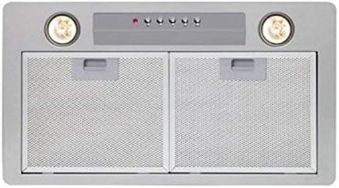 Nodor GAT 850 600 - Campana (Canalizado, 790 m³/h, 49 Db, Incorporado, Halógeno, Color blanco): Amazon.es: Grandes electrodomésticos