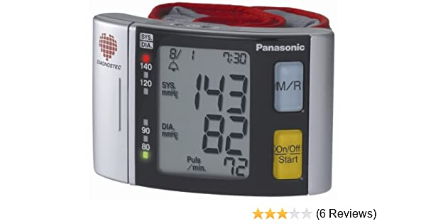 Amazon.com: Panasonic EW3037S Wrist Blood Pressure Monitor: Health & Personal Care