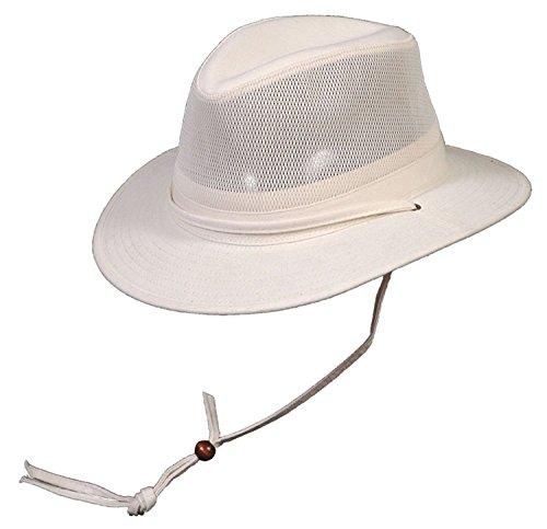 886558095274 Conner Hats Men s Pueblo Mens Fedora Mesh Cotton Outdoor Hat