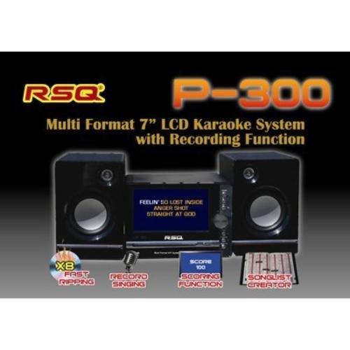 RSQ P300 Multi Format LED Karaoke System