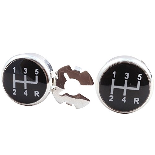 HJ Men's Jewelry Button Covers a Stylish and Unique Substitute to Traditional Cuff - Cuff Cover