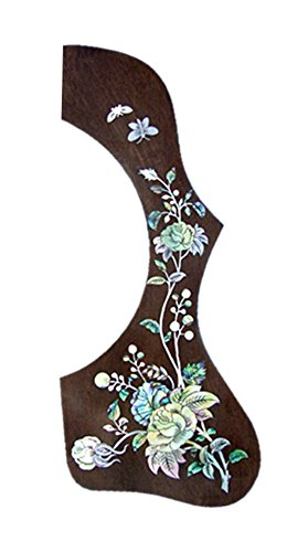 (Bruce Wei, Guitar Part - Rosewood Pickguard w/MOP Art Inlay (653))