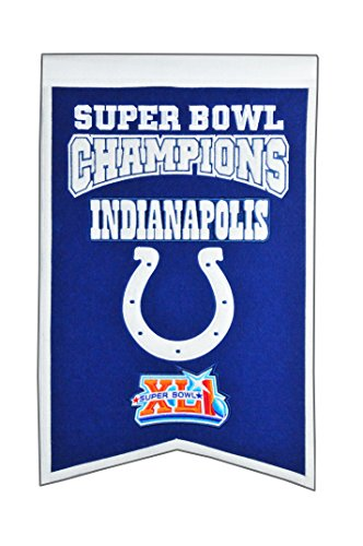 NFL Indianapolis Colts Super Bowl Champions Banner ()
