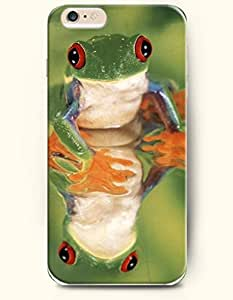 iPhone 6 Plus Case 5.5 Inches The Shadow of the Frog - Hard Back Plastic Case OOFIT Authentic
