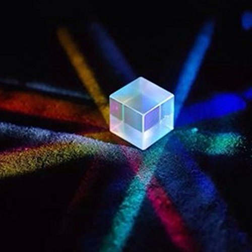 MQB Optical Glass Triangular Prism for Teaching Light Spectrum Physics 20mm