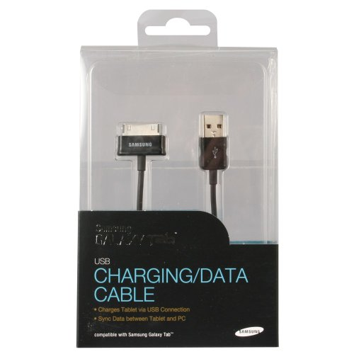 Samsung Galaxy Tab Data Cable (Charging) USB to 30 Pin (ECC1DP0UBEGSTA) (Samsung Galaxy Tab 2 7 Inch Charger)