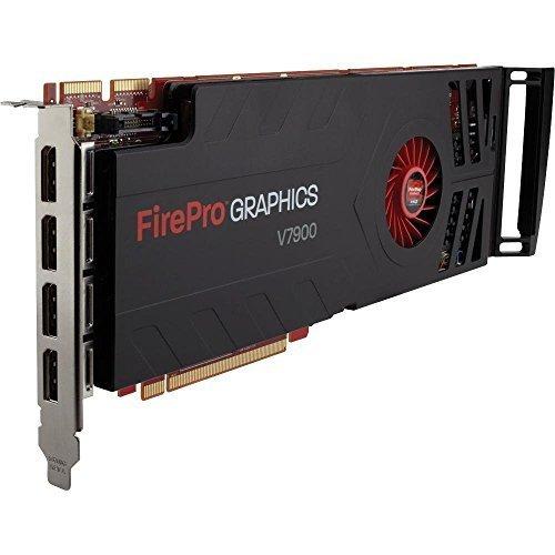 AMD 100-505647 FirePro V7900 Graphic Card - 2 GB GDDR5 SDRAM - PCI Express 2.1 x16. FIREPRO V7900 GRAPHICS CARD PCIE16 2.1 2GB GDDR5 4PORT V-CARD. 2560 x 1600 - CrossFire Pro - Fan Cooler - DisplayPort