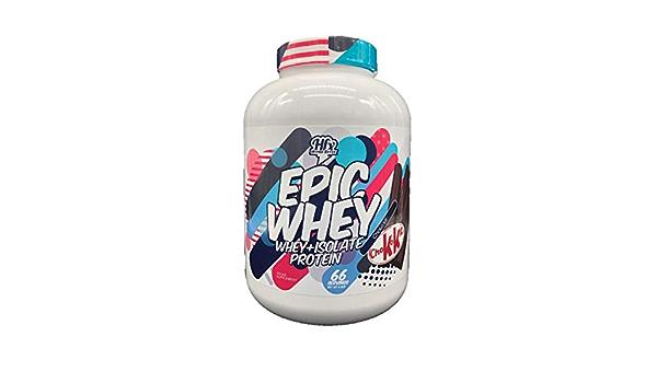 Hyper Effex Epic Whey - 66 Serv. Vanilla Ice Cream: Amazon.es ...