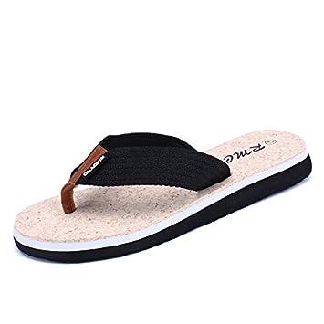 Flip Flops Herren Sommer rutschfeste Schuhe Sandalen toe Schuhe