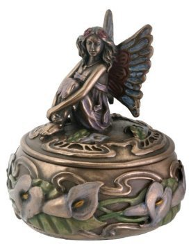Calla Lily Fairy Box Jewelry Holder (Fairy Box Music)