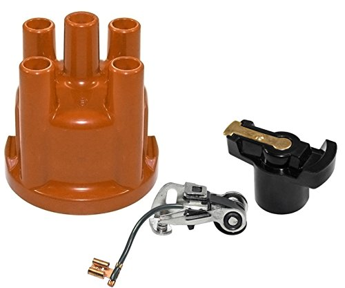 (IAP Performance AC905585 Distributor Cap (Points and Rotor Kit for VW 009 Distributors; VW Beetle))