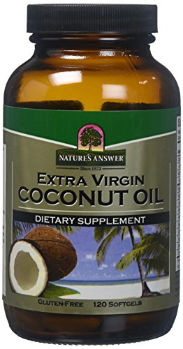 Cheap Nature's Answer Extra Virgin Coconut Oil Softgels, 120-Count