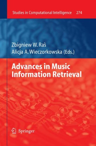 Advances in Music Information Retrieval (Studies in Computational Intelligence)