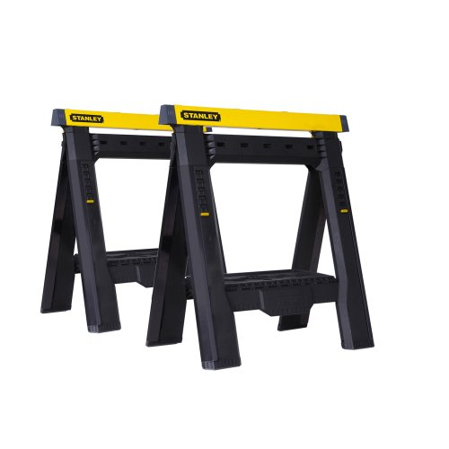 Stanley STST60626 Adjustable Sawhorse Twin